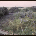 Spring that supplied NWMP Barracks via a pipeline.  Wood Mountain.  09/05/1965