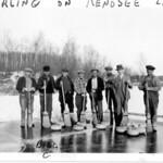 Curling on Kenosee Lake
